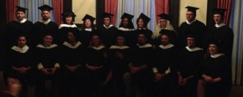 January 2014 Graduates of the UT MFA Program