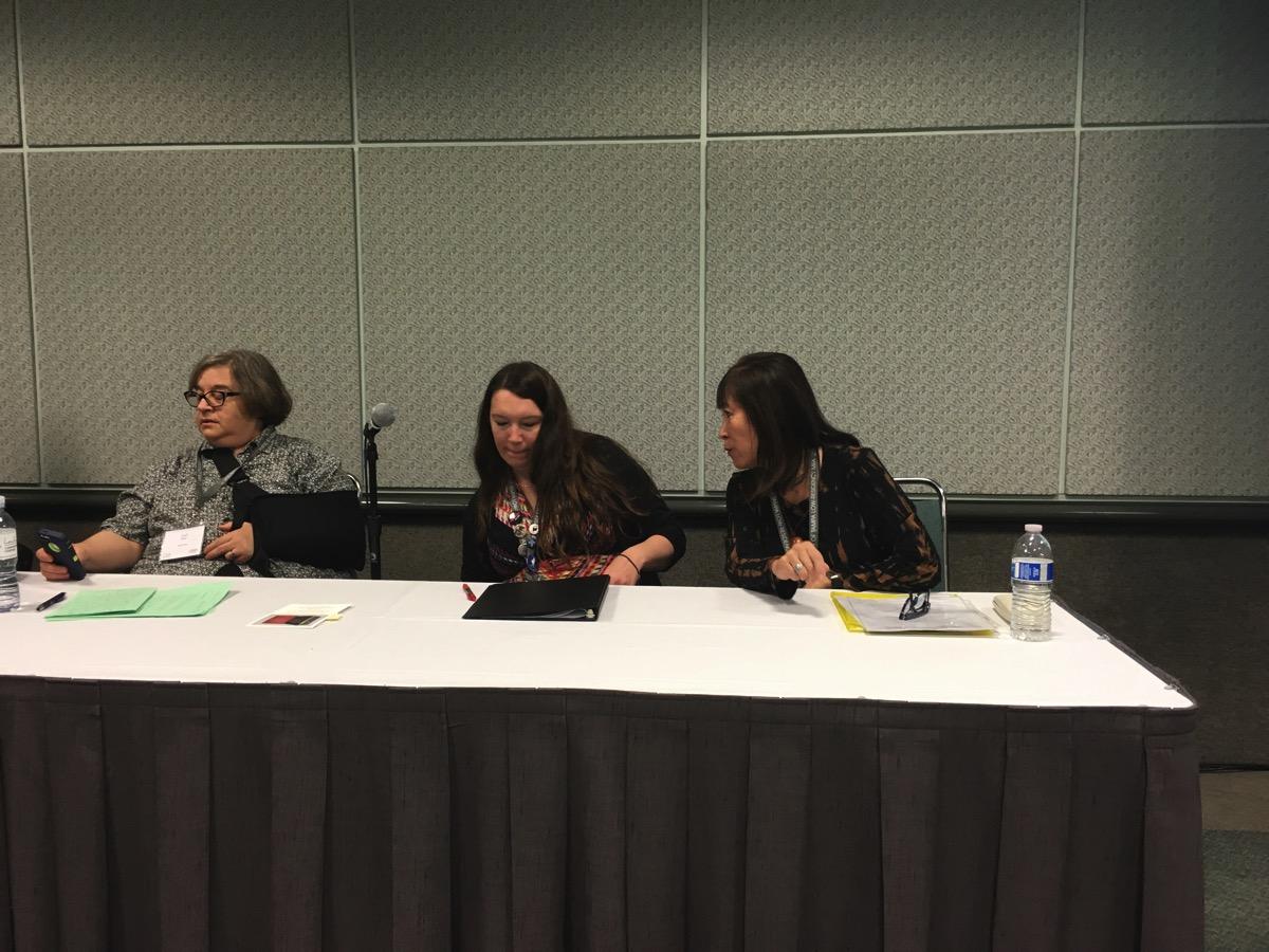 Carol Dorf, Katie Manning, Amy Uyematsu