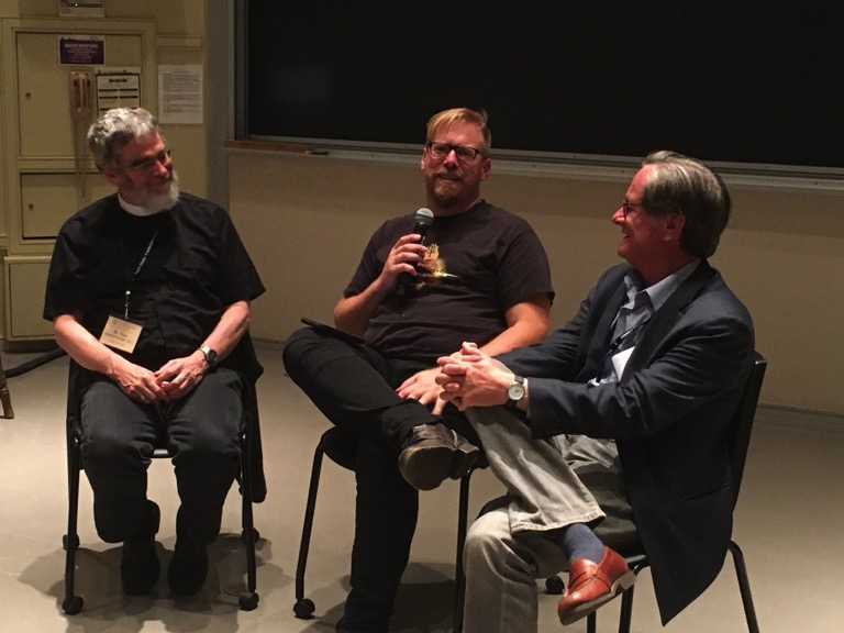 Guy Consolmagno, Jonathan Ryan, Tim Powers