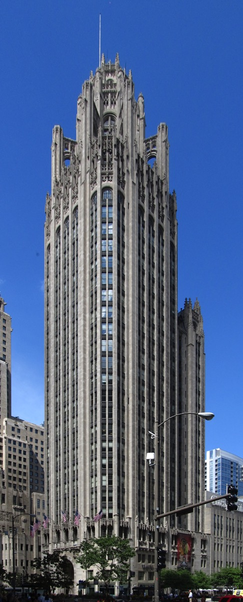 Tribune Tower Chicago Illinois 9181667444 cropped