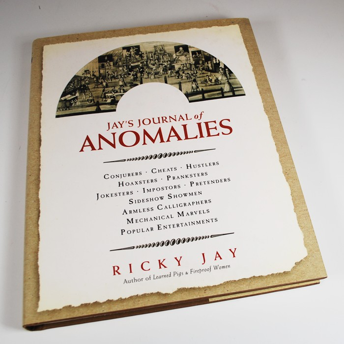 Image of hardcover edition of Jay's Journal of Anomalies