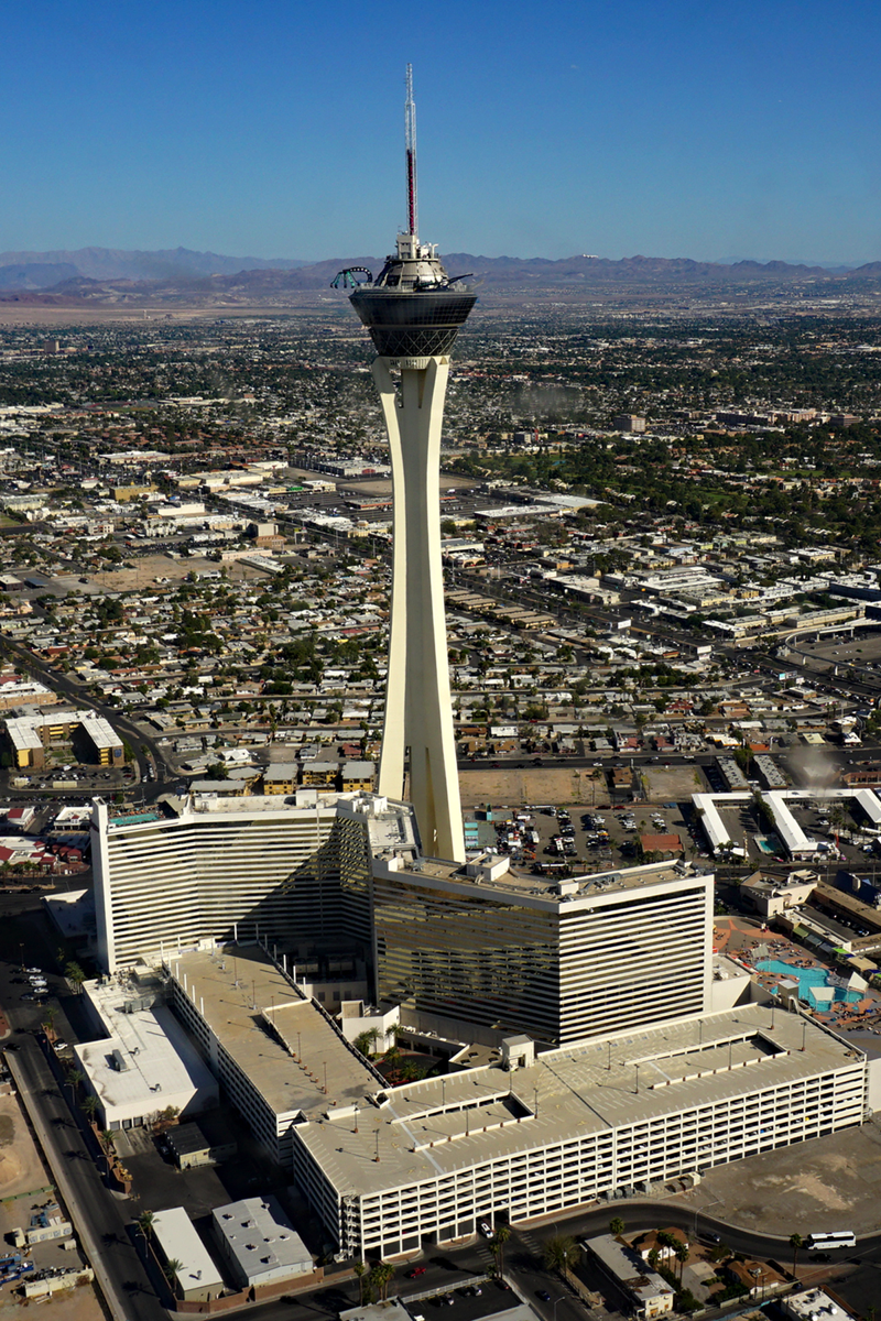 Image of the Stratosphere Hotel in Las Vegas